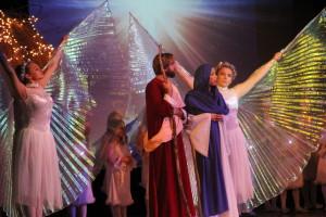 Betlejem dla Swiata Miedzynarodowy Spektakl Pastoralka - zorganizowany przez Kinga Modjeska - Scena Polonia
